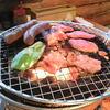 ここのえ牧場 - 料理写真:炭火で焼肉♪