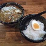 つけ麺屋ちっちょ - MBS「せやねん」に紹介されました!まかないカレー(600円)