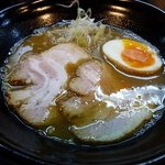 新月 - 鶏白湯ラーメン(醤油)