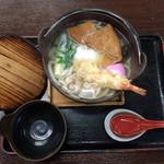 英ちゃんうどん - 鍋焼きうどん790円