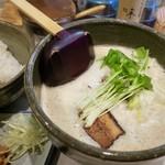 北野 - 鷄豚骨魚介系のスープが美味い!チャーシューも絶品