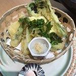 80304478 - 春野菜の天ぷら