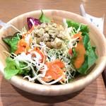 ケヤキカフェ - キアヌサラダ