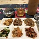 魚谷キムチのごはんやさん - 副菜を6品♪1回目(◞ꈍ∇ꈍ)◞