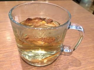ケヤキカフェ - ごぼう茶