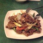 8031190 - 牛肉の黒胡椒炒め