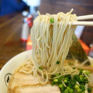 らぁめん大山 - 料理写真:細麺リフト