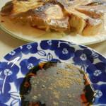 万里長城 - 酢醤油&胡椒でいただきます