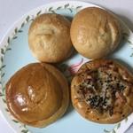 若葉 - 料理写真:この3種 4個購入