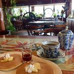 PAPUA CLUB - 料理写真:ホットケーキとコーヒー