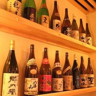 《常時10種類以上》全国から取り寄せた【日本酒】を楽しむ◎