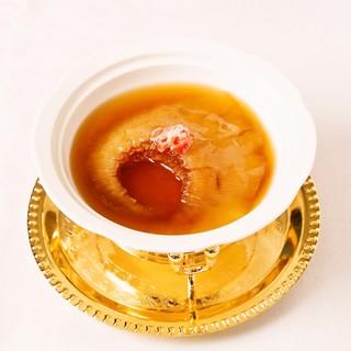 高級食材を用いた本格中華のコースメニュー