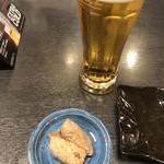 和楽 - ビールとお通し