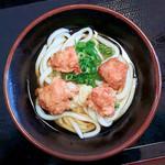 讃州製麺 - 料理写真:唐揚げぶっかけ冷(ぶっかけ冷+唐揚げ)