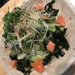 串かつ ハニー - 本日のサラダ