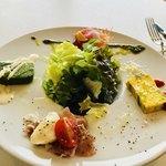 ポルトアズーロ - ¥1300ランチコースの前菜