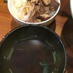 まぜまぜ ムタヒロ - スープ チャーシュー丼(*´ω`*)