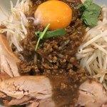 まぜまぜ ムタヒロ - カレーまぜ麺(*´ω`*)