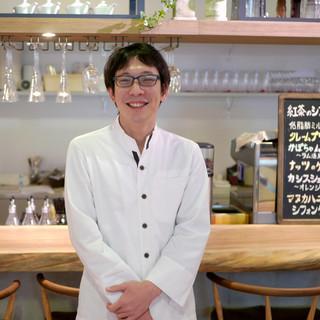 シェフは一流のフレンチ料理店で腕を磨いた料理人