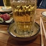 野焼 - やかん(梅割り焼酎)  270円