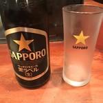お多幸 - 中瓶〜サッポロ黒