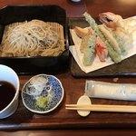 城山坊 - 料理写真:にぎわい天ざる