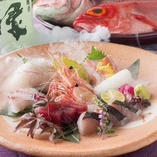 和食をベースにした創作料理の数々