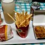 マクドナルド - 料理写真:ハンバーガーたち