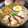 京都ラーメン研究所 - 料理写真:あぶった厚切りチャーシューは食べ応えあり。