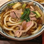 丸亀製麺 - 鴨ねぎうどん並640円