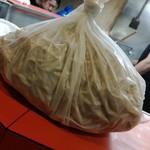 ラーメン二郎 - 土産麺、300円分。約1150グラムありました。