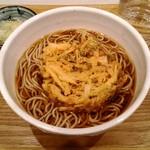 相州蕎麦 - かき揚げ天そば 440円
