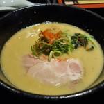 らーめん みふく - 鶏白湯ラーメン(850円)