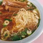 奇珍 - シコシコな細麺。麺もおいしい。