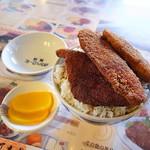 敦賀ヨーロッパ軒 - ミックス丼(大盛)