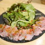スパイスバル コザブロ - 青鮫のスパイスカルパッチョ¥780
