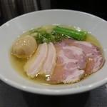 麺や福はら - ☆特製芳醇鶏そば塩(●^o^●)☆