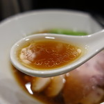 麺や福はら - ☆醤油のスープ(#^.^#)☆