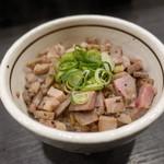 麺や福はら - ☆炙り肉めし(#^.^#)☆
