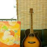 aman - 沖さんは歌をなこさんは絵を描いてます