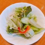 厨 Sawa - ランチに付属するサラダ