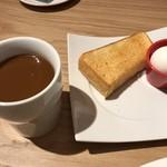 むさしの森珈琲 - 料理写真:モーニングサービス=432円