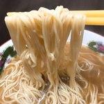 新横浜ラーメン博物館 ミュージアムショップ - ツナコツラーメンの麺