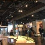 新横浜ラーメン博物館 ミュージアムショップ - ラーメン博物館の受け付けの辺り