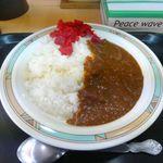 どんぱち食堂 - 料理写真:あkレーライス(小)