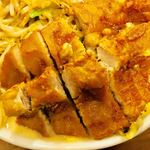 極濃湯麺 フタツメ - 排骨アップ【料理】