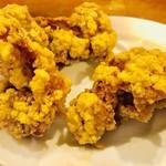極濃湯麺 フタツメ - 唐揚げ【料理】