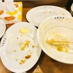 極濃湯麺 フタツメ - 完食(汚くてすいません)【その他】