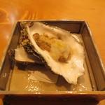 オステリア あんじゅ 西麻布 - コース1品目 牡蛎