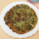 粥菜坊 - 牡蠣の中華お好み焼き